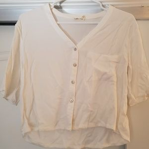 White Blouse Sz XS